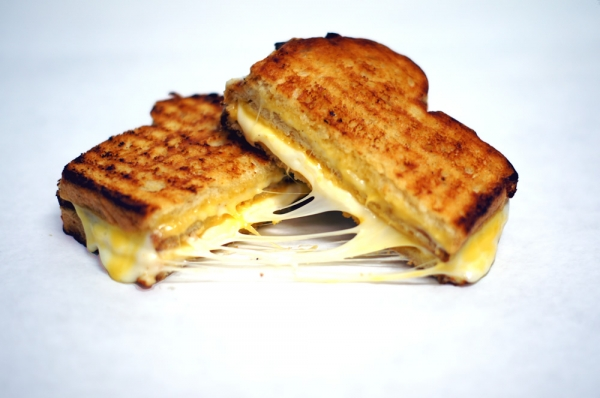 3x3 Grilled cheese