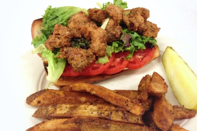 Deep Fried Bacon Po' Boy