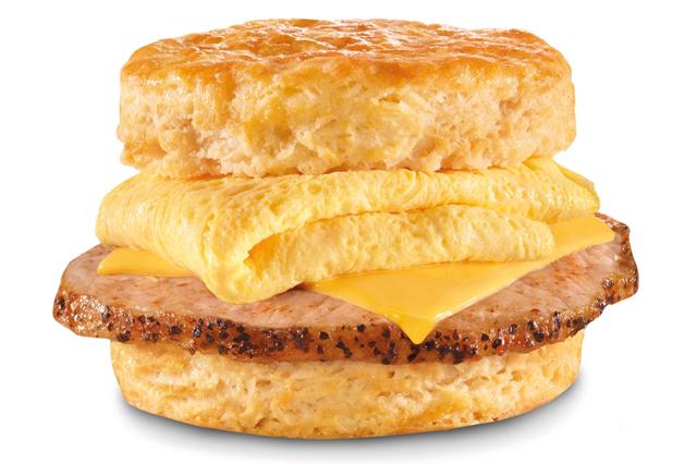 Chops Breakfast Sandwich